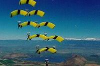 Voile contact parachutisme