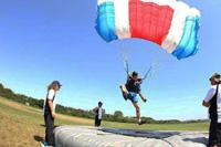 Parachutisme précision d'attérissage
