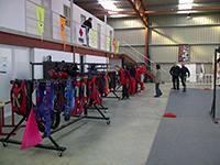 Salle de pliage Skydive flyzone