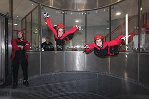 Rémi et Johan, simulateur de chute libre - Skydive FlyZone