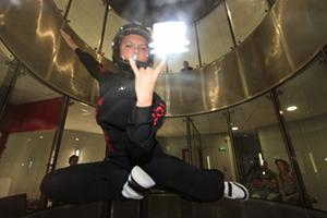 Domi entrainement simulateur de chute libre Skydive FlyZone