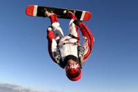 parachutisme skysurf